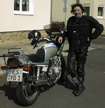 Dave and his Yamaha XJ 900